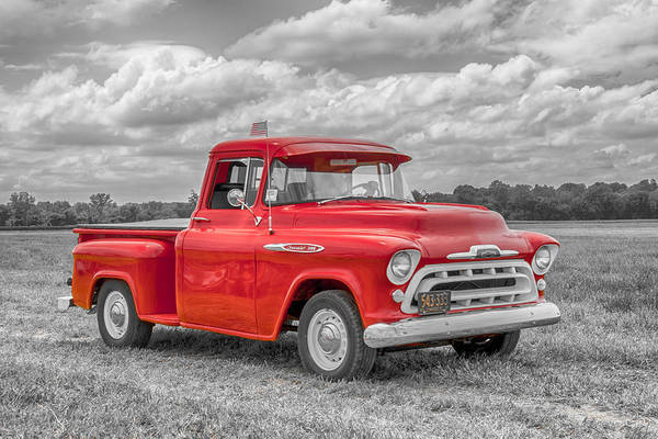 Photograph - Chevy 3100   7d05235 by Guy Whiteley