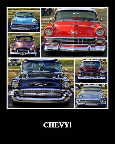 Photograph - Chevy by AJ  Schibig