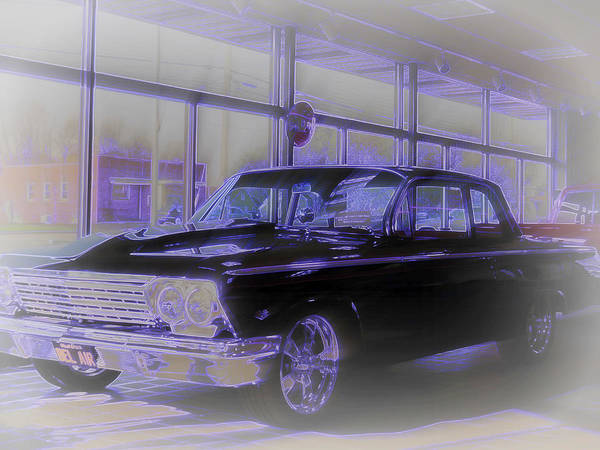 Photograph - Chevy Bel Air Classic by Kay Novy