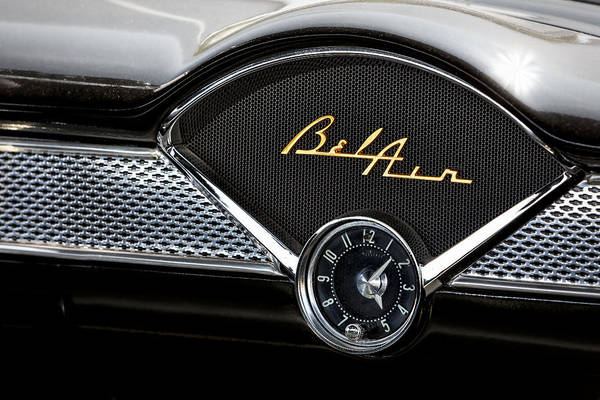 Photograph - Chevy Bel Air by Susan Candelario