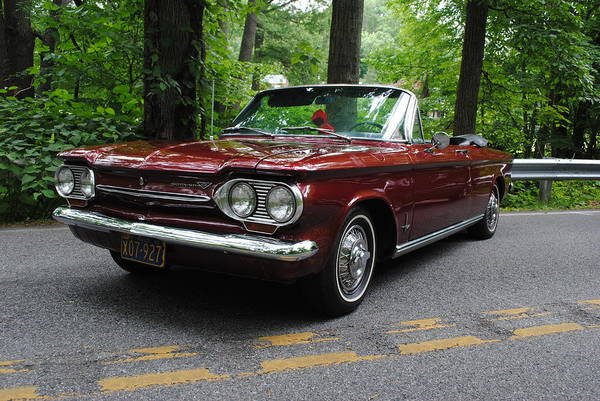 Photograph - Chevy Corvair by Keith Swango