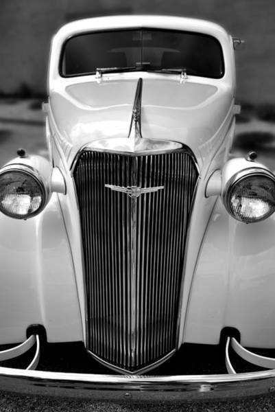Photograph - Chevy Grill by George Taylor