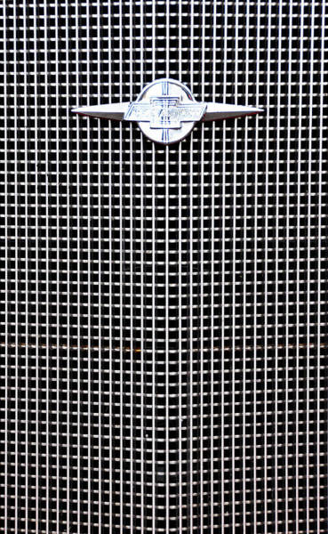 Photograph - Chevy Grille by Joanne Brown