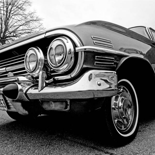 Photograph - Chevy Impala Close Up by Gill Billington