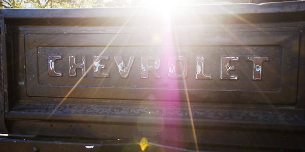 Photograph - Chevy In The Sun by Beverly Stapleton