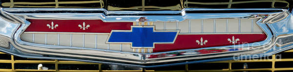 Photograph - Chevy Logo by Mark Dodd