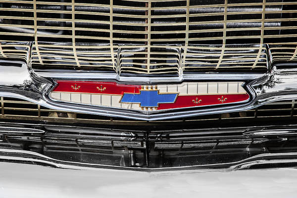Photograph - Chevy Nation 1957 Bel Air by Rich Franco