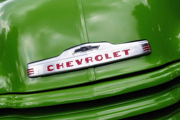 Photograph - Chevy Ornament by John Kiss