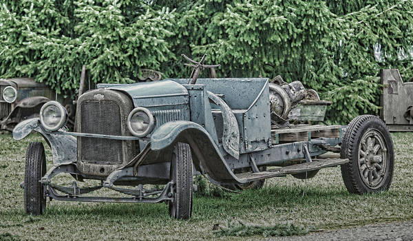Chevy Truck By Ron Roberts Art Print
