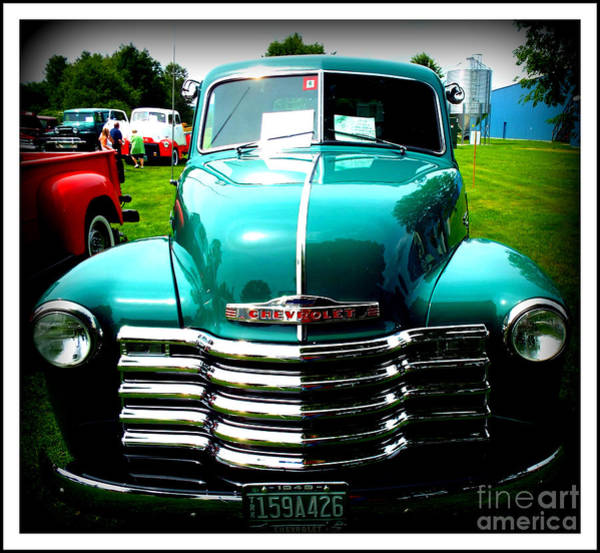 Wall Art - Photograph - Chevy Truck by Rebecca Malo