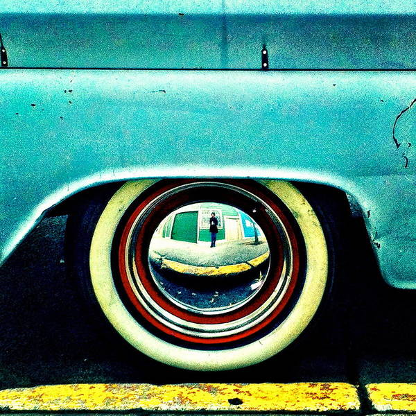 Wall Art - Photograph - Chevy Wheel by Julie Gebhardt