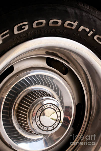 Photograph - Chevy Wheel by Rick Piper Photography