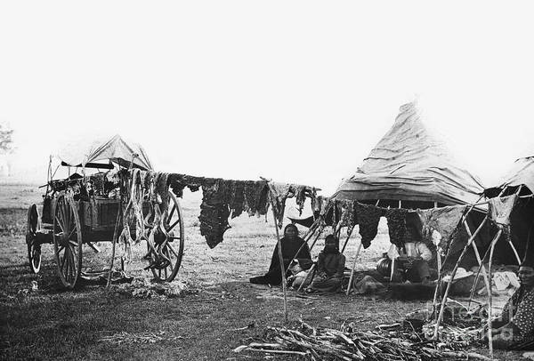 Photograph - Cheyenne Camp.  by Granger