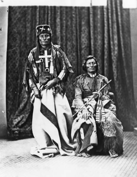 Delegation Photograph - Cheyenne Chiefs, 1873 by Granger