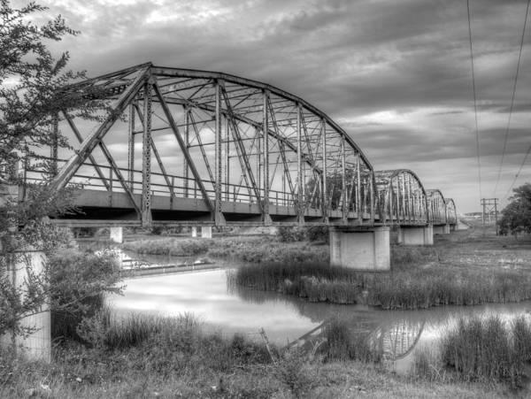Photograph - Cheyenne River Bridge  by HW Kateley