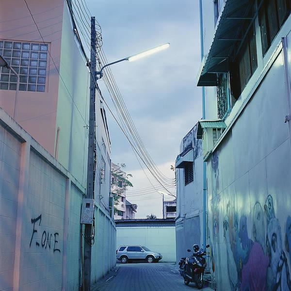 Wall Art - Photograph - Chiang Mai Backstreet by By Ak Wong