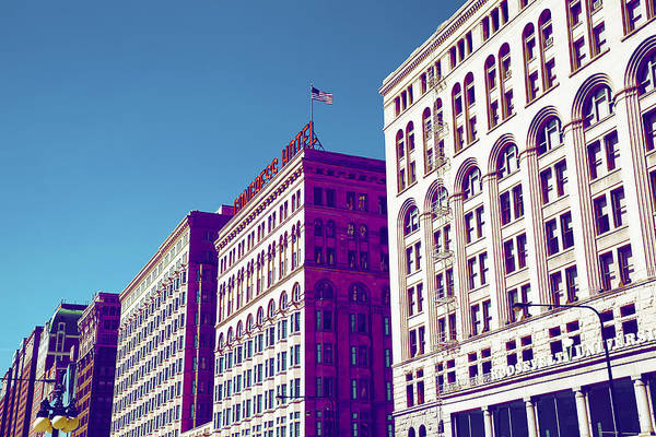 Michigan Ave Photograph - Chicago 2 by Michael Guirguis