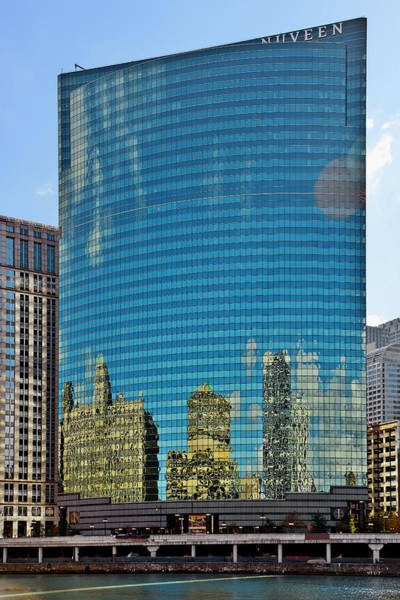 Photograph - Chicago - 333 West Wacker Drive by Christine Till