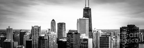 Chicago Aerial Panoramic Picture Art Print