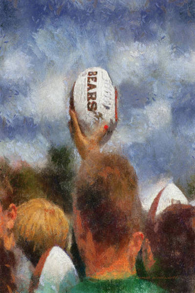 Wall Art - Photograph - Chicago Bears Training Camp 2014 Autograph Time by Thomas Woolworth