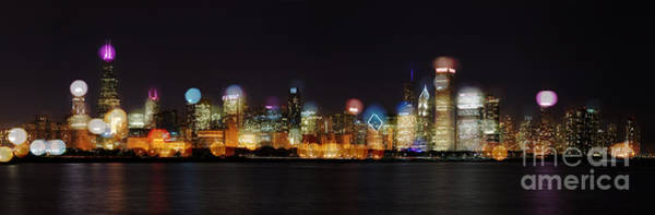 Photograph - Chicago Bokeh by Owen Weber