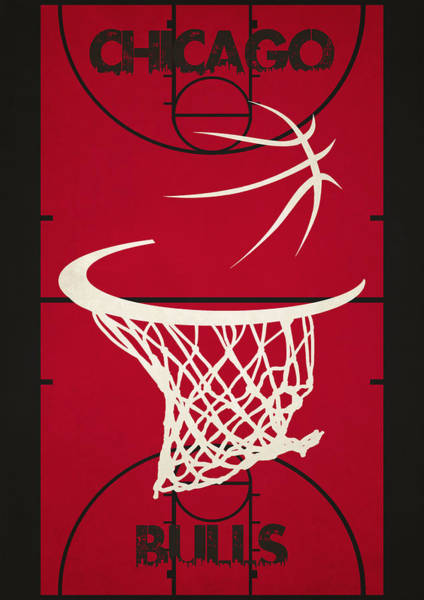 Chicago Bulls Photograph - Chicago Bulls Court by Joe Hamilton