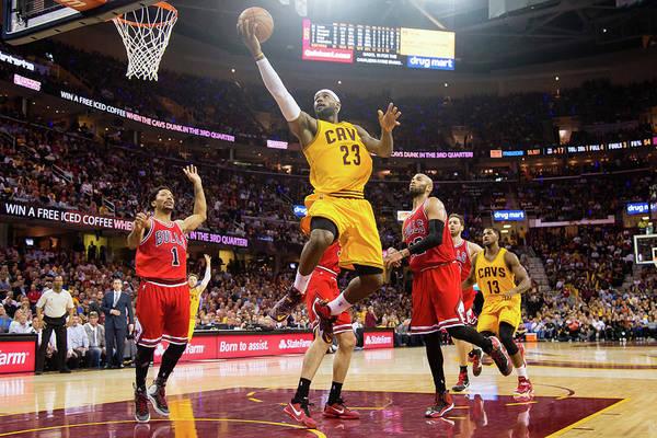Chicago Bulls Photograph - Chicago Bulls V Cleveland Cavaliers - by Jason Miller
