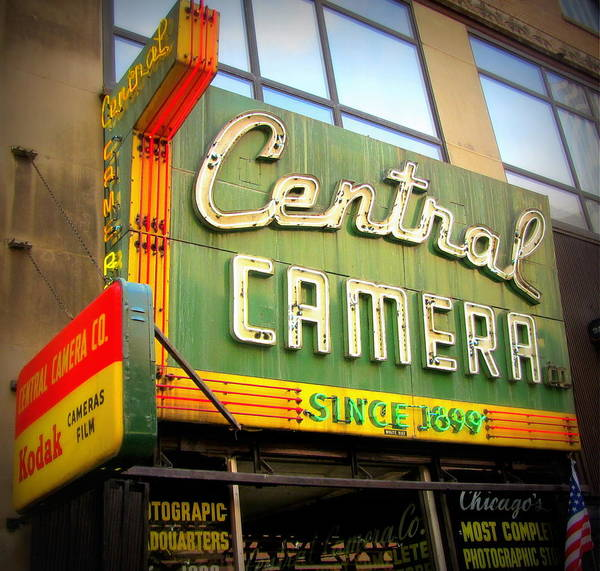 Photograph - Chicago Central Camera 2 by Anita Burgermeister