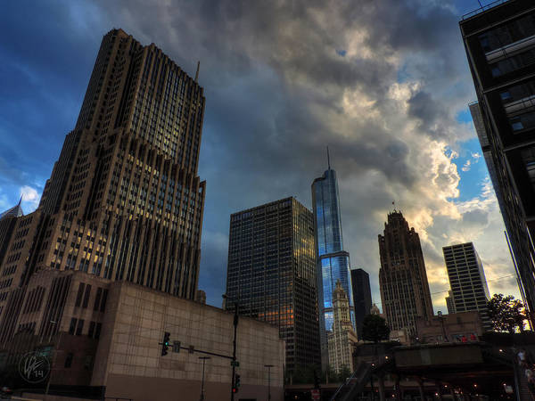 Photograph - Chicago Cityscape 001 by Lance Vaughn
