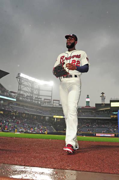 Atlanta Photograph - Chicago Cubs V Atlanta Braves by Scott Cunningham