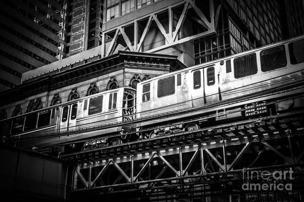 Elevated Wall Art - Photograph - Chicago Elevated  by Paul Velgos