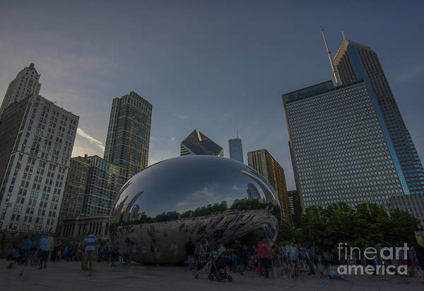 Photograph - Chicago Illinois   by David Haskett II