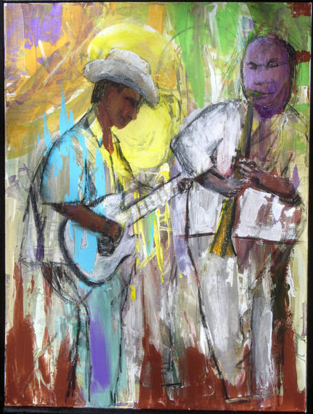 Painting - Chicago Jam by Keith Thue