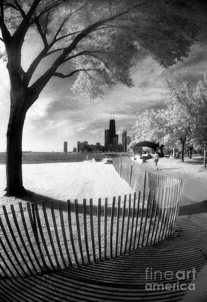 Photograph - Chicago Lakefront Infrared by Martin Konopacki