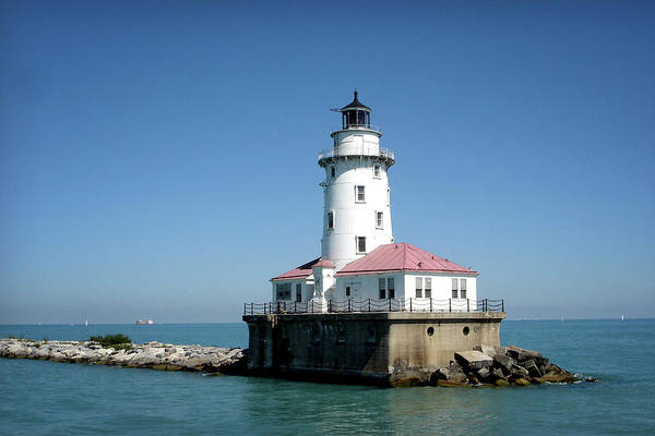 Photograph - Chicago Lighthouse by Julie Palencia
