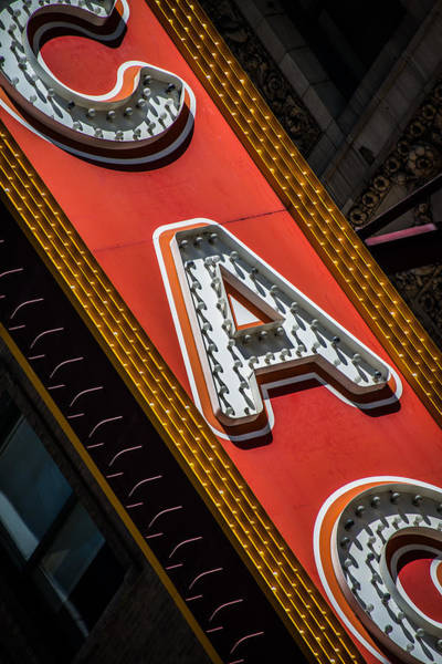 Photograph - Chicago Marquee by James Howe