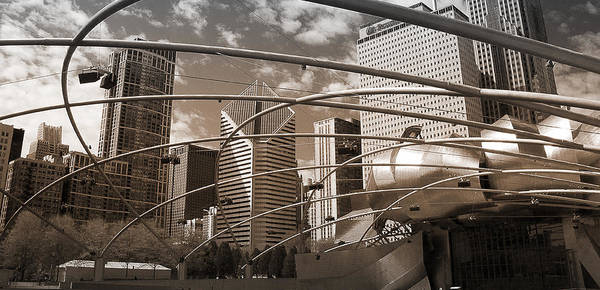 Photograph - Chicago - Modern City by Milena Ilieva