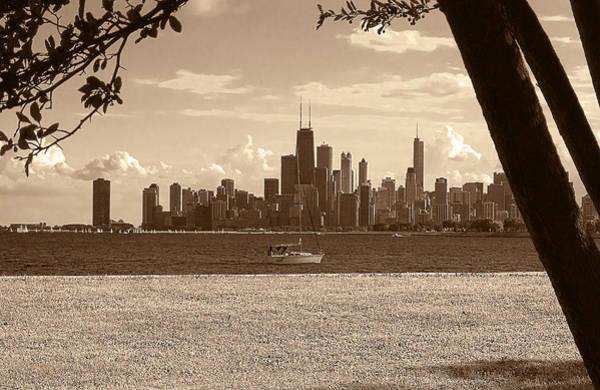 Photograph - Chicago Moment by Milena Ilieva