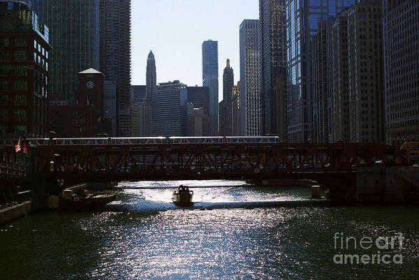 Photograph - Chicago Morning Commute by Frank J Casella