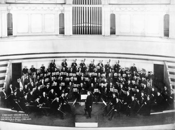 Photograph - Chicago Orchestra, 1907 by Granger