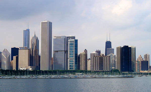 Photograph - Chicago Panorama by Milena Ilieva