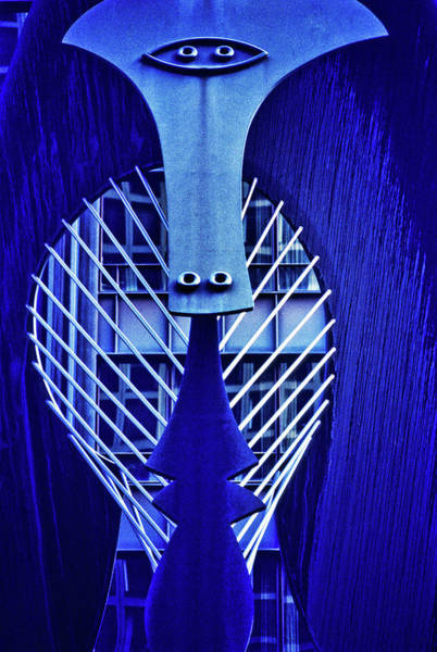 Illinois Art Photograph - Chicago Picasso Sculpture, Chicago by Panoramic Images