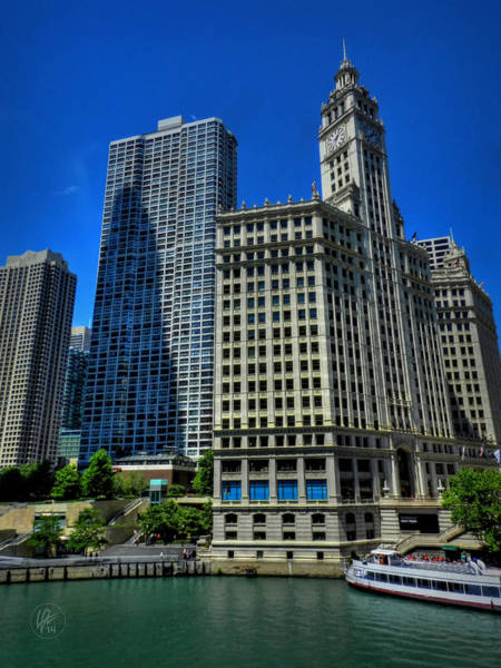 Photograph - Chicago River 002 by Lance Vaughn