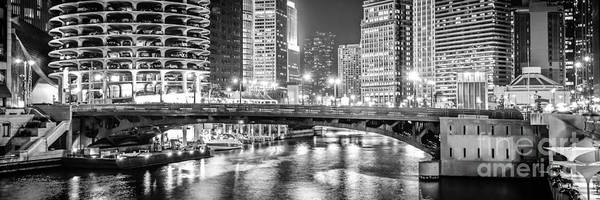 Wall Art - Photograph - Chicago River Dearborn Street Bridge Panorama Photo by Paul Velgos