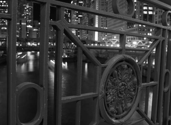 Photograph - Chicago River by Miguel Winterpacht