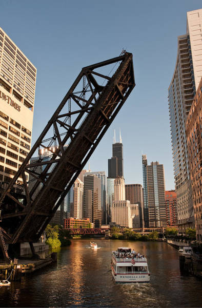 Loop Photograph - Chicago River Traffic by Steve Gadomski