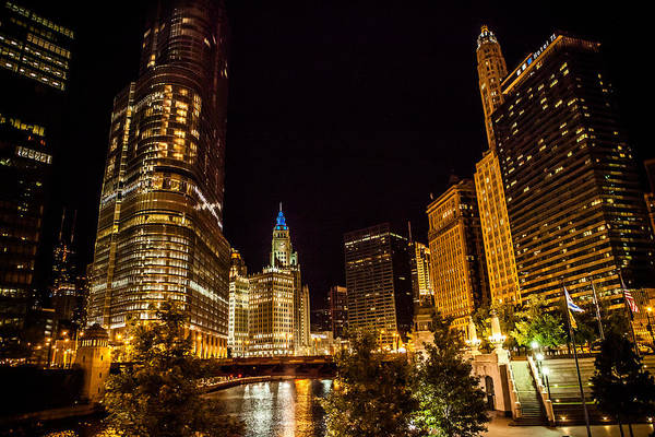 Photograph - Chicago Riverwalk by Melinda Ledsome