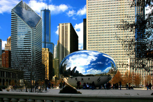 Photograph - Chicago Skyline Bean by Patrick Malon