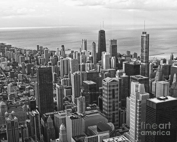 Wall Art - Photograph - Chicago Skyline by Emily Kelley