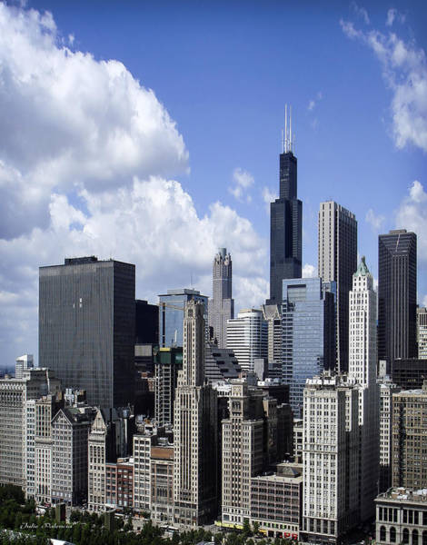 Photograph - Chicago Skyline From Randolph by Julie Palencia
